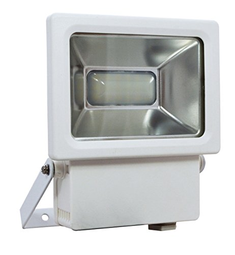Tibelec 344610 First Projecteur LED Résine 20 W Blanc 62 X 142 X 165 mm