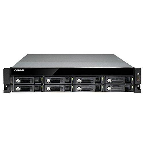 QNAP TVS-871U-RP Collegamento ethernet LAN Armadio (2U) Nero, Grigio NAS