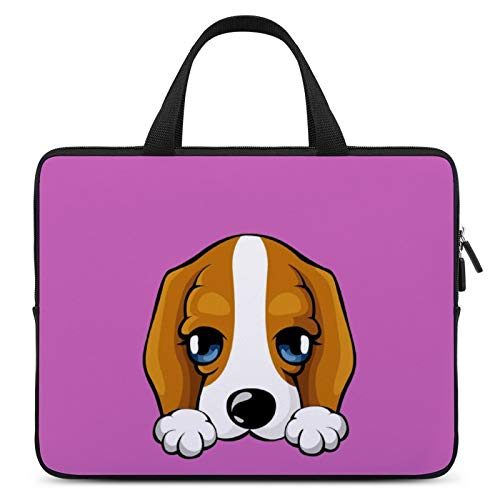 Universal Laptop Computer Tablet,Case,Cover for Apple/MacBook/HP/Acer/Asus/Dell/Lenovo/Samsung,Laptop Sleeve,Color for Mammal Dog Cartoon Beagle,17inch