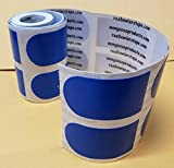 Real Bowler's Tape, Roll of 100, 1 inch Blue/Smooth