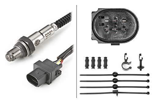 HELLA 6PA 009 166-791 Lambdasonde - 6-polig - Kabel: 800mm