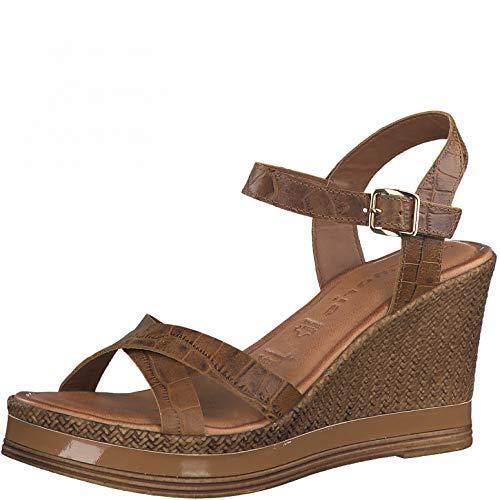 Tamaris Damen Sandalette 1-1-28392-26 305 braun normal Größe: 41 EU