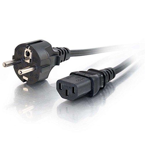 Oferta de CABLES TO GO Power Cord - Cable de alimentación Universal (5 m), Negro