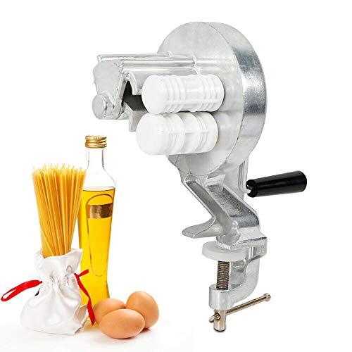 YUNRUX Manuell Nudelmaschine Pastamaker Pastamaschine für Gnocchi Pasta Nudel Spaghetti Hohlnudeln