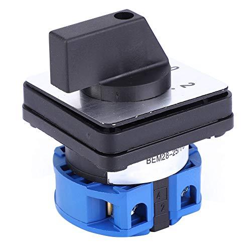 Interruptor de cambio universal grueso, 25A hecho de tipo de posicionamiento de plástico BEM28-25/1 D101
