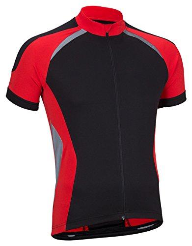 Avento 81bt T-Shirt de Cyclisme pour Homme, Homme, T-Shirt de Cyclisme, 81BT, Rouge/Noir, m