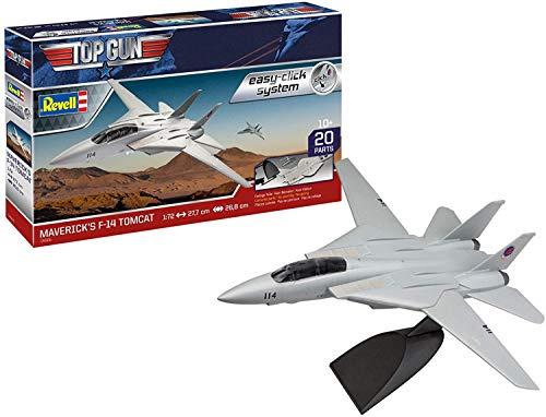 ドイツレベル 1/72 アメリカ海軍 F-14 トムキャット トップガン プラモデル 04966