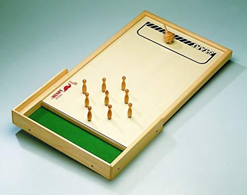 Weible Spiele 3105007 10500 - Meraner Tischkegelspiel