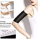 XYN Thermal ToneUp Arm Shaper,Women Arm Shaping Shaper Fat Buster Off Cellulite Slimming Wrap Belt Band (Beige, 2 Paar)