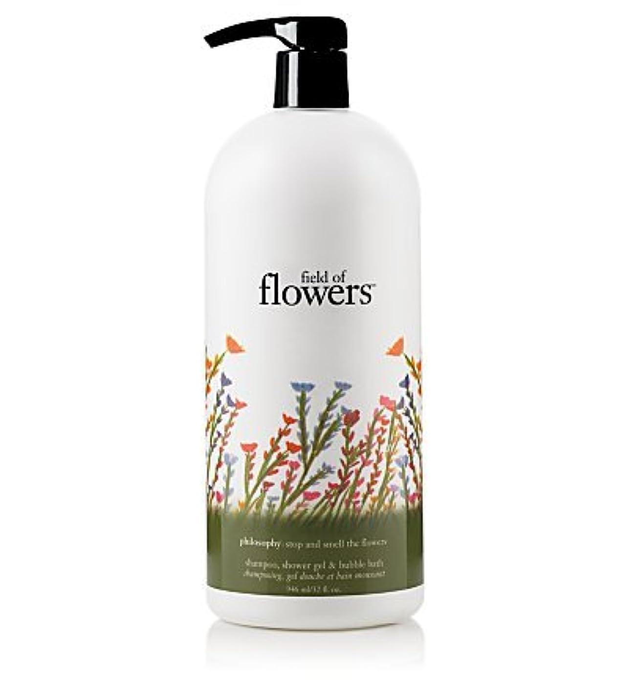 発揮するパース地域のfield of flowers (フィールド オブ フラワーズ) 32.0 oz (960ml) shampoo, shower gel & bubble bath for Women