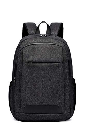 Gimay ビジネスリュックリュックサック バッグパック ダウンリュック 防水 USBポート搭載 PCバッグ 男女兼用 通学 出張 旅行 アウトドア (ブラック)