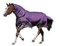 Weatherbeeta Comfitec Plus Dynamic Detach-a-Neck Lite Purple/Black 75 [並行輸入品]