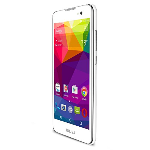 BLU Advance 5.0 - Unlocked Dual Sim Smartphone - US GSM - White