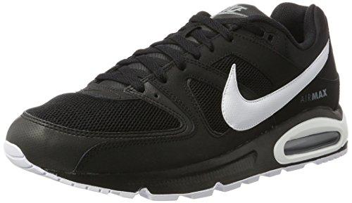Nike Herren Air Max Command Sneaker, Schwarz (Black/White/cool Grey), 41 EU