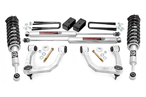 Rough Country 3.5' Bolt-On Lift Kit w/N3 Struts for 2005-2021 Tacoma - 74231