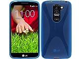 Funda Gel TPU Azul LG Optimus G2 Mini D620 Modelo X Line