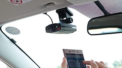 【JAFグループ】ドライブレコーダー360度全方位対応前後2カメラ搭載常時録画ドラレコフルHD日本設計水平360°垂直80°アプリスマホ対応HDR夜間画像補正LED信号対応簡単取付最新モデルドラドラまるっとDD-W01
