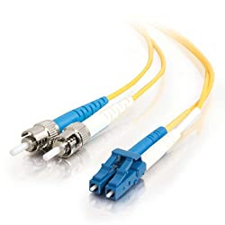 C2G  Cables to Go 14486 LCST Duplex 9125 Single  Mode Fiber Patch Cable (20 Meters Yellow)