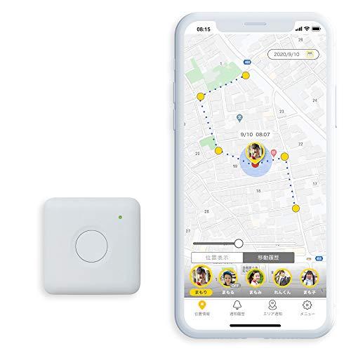 IoTBank まもサーチ2 子供を見守り 迷子防止 通知 GPS IP65防水防塵 スマートトラッカー