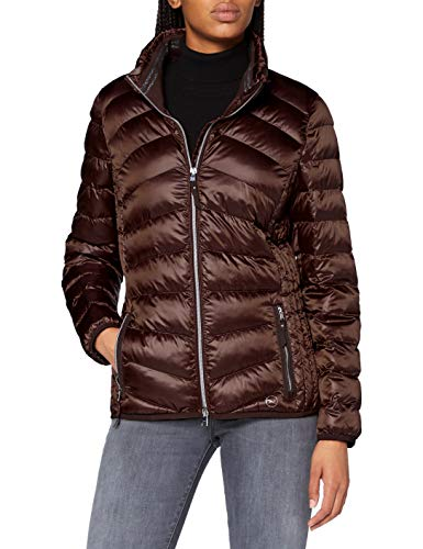 BRAX Damen Style Bern Outdoor Zero Down Jacke, Brown, 40