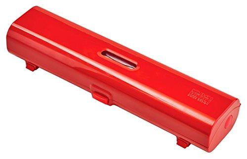 KUHN RIKON 27669 rot Folienschneider, Kunststoff, 35.9 x 9.6 x 6.2 cm