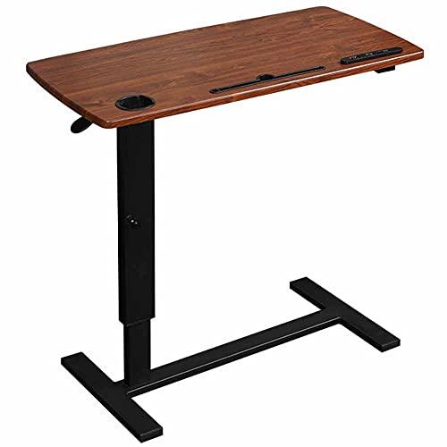 LJFYXZ Mesa de Ordenador Mesa Auxiliar con Ruedas, Regulable en Altura Movilidad Reducida o Discapacitados para Cama y Sofá, 40 x 60/80 x 66-94 cm(Size:85x45cm)