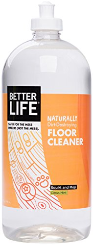 Better Life Naturally Dirt-Destroying Floor Cleaner Citrus Mint 32 Fl Oz (Pack of 1)