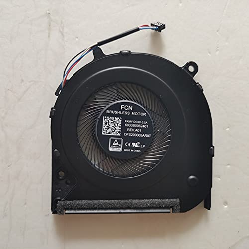 Ellenbogenorthese-LQ 100% Nuevo Ventilador de refrigeración de CPU para Ordenador portátil HP 300 G5 348 G5 14-CK 14-CF 14-CM 240 G7 246 G7 14S-dk 14S-DP 14S-cf1072TX TPN-I130 TPN-I135