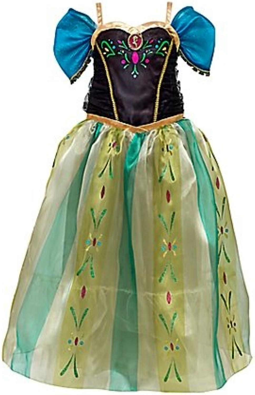 Die Eisknigin - vllig unverfroren - Anna Krnungskleid Kostüm für Kinder (9-10 Years)