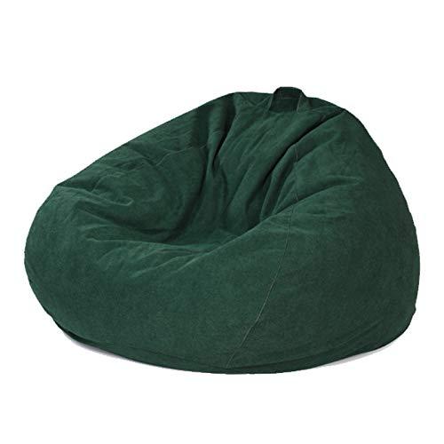 WXFN Komfortables Rückenlehnendesign Lazy Sofa Freizeit Stoffbezug Ohne Füllung Hergestellt Aus Polyester-Fleece Trifft Auf Ergonomie,L