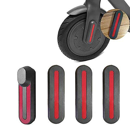 Couvre, Smart Electric Scooter Wheel Mozzi Cover Custodia Protettiva Shell Decorativo con Decalcomanie Scooter Parti di Ricambio per Xiaomi M365 Scooter