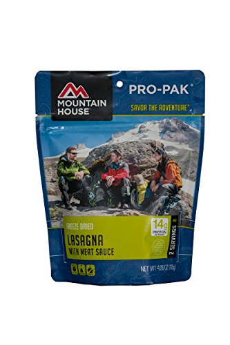 Camping Freeze-Dried Food