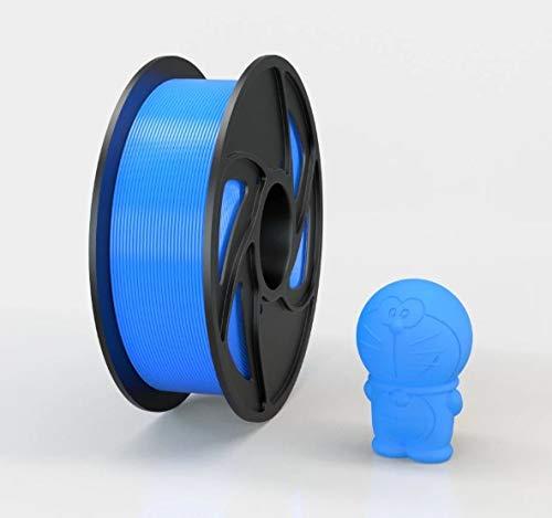Aktionswoche bis 30.06.2021! HIGHQUALITY STANDARD 3D Drucker und stifte Filament reines PLA 1KG 1.75mm +/- 0,02mm Durchmesser, Farbe (Blau)