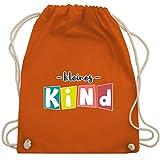 Shirtracer Geschwister Schwester - Kleines Kind - Unisize - Orange - Geschwister - WM110 - Turnbeutel und Stoffbeutel aus Baumwolle