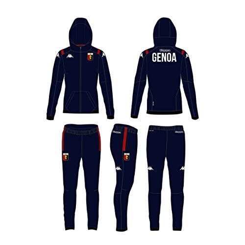 Kappa Tuta AUTRIC 3 Genoa FC 304TQB0 Blue Marin-Red Calcio