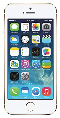 5S Gold Compatible with iPhone with 8 Mega Pixel Camera(16GB Internal 1GB RAM) 1 Year Warranty