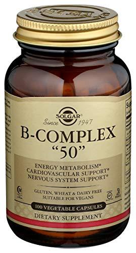 Solgar Formula Vitamin B-Complex '50' Vegetable Capsules - Pack of 100