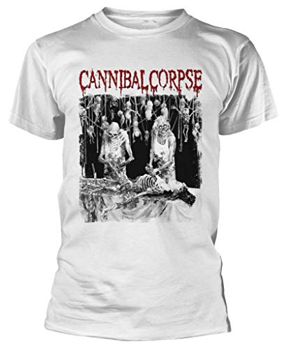 Cannibal Corpse  Butchered At Birth  (White) T-Shirt (XX-Large)