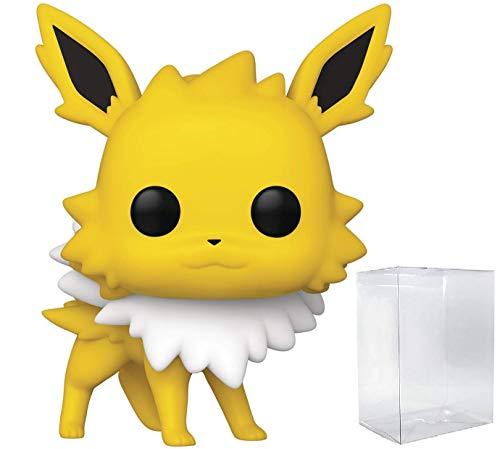 Funko Pop! Games: Pokemon – Jolteon – Personaggio in vinile (include custodia protettiva compatibile per pop box)