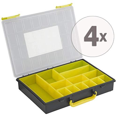 Gardopia Sparpaket: UniQat Sortmienskasten 4 Stück