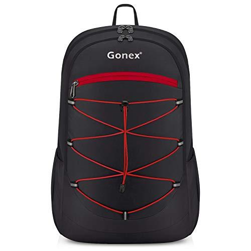 Gonex- Zaino impermeabile, pieghevole, capacità di 25 litri, adatto per campeggio, escursionismo e viaggi