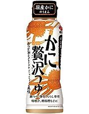 盛田 かに贅沢つゆ 1本 200ml カニ贅沢つゆ 蟹贅沢つゆ かにつゆ 蟹 かに カニ 調味料 つゆ 出汁 だし