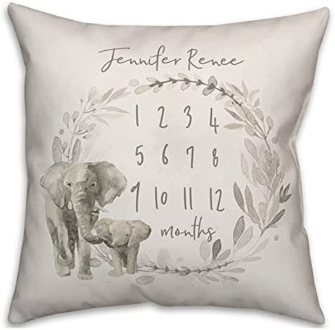 16 Inch Polyester Pillowcovers with Watercolor Sales of SALE items from new works Elephant Weekly update Pattern