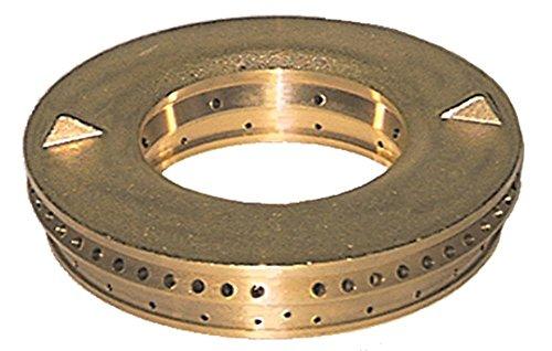 Modular Brennerdeckel für Gasherd 65/40PG-40P mit Mittelloch 7500W ø 110mm Bohrung ø 3mm Brennertyp E
