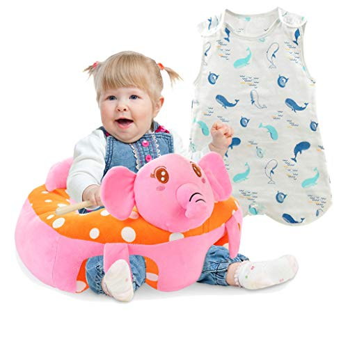 Fantastic Prices! Baby Sleep Sack Size M +Baby Sofa Infant Support Seat Learning Sitting Chairs