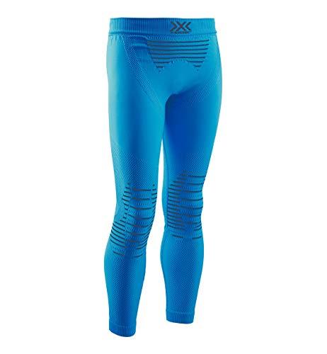 X-BIONIC Invent 4.0 Pants Junior Pantalon de Compression Collant de Sport Enfant Teal Blue/Anthracite FR : L (Taille Fabricant : 10/11)