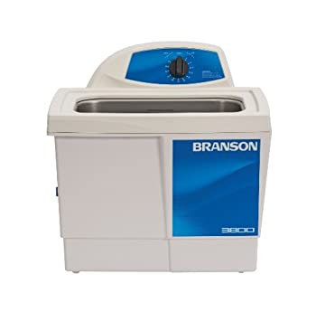 Branson Ultrasonics CPX-952-316R Series M Mechanical Cleaning Bath with Mechanical Timer 1.5 Gallons Capacity 120V