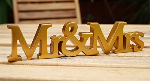 Mr and Mrs Wedding Plaque For Wall Hanging Or Mantel Display by ukgiftstoreonline