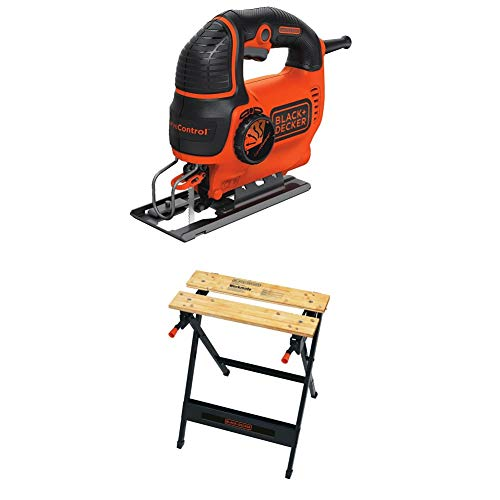 BLACK+DECKER Jig Saw, Smart Select, 5.0-Amp with...