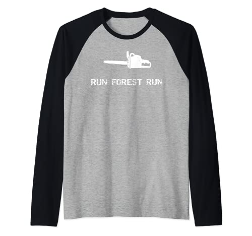 Run Forest Run Lustige Kettensäge...
